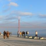Uferpromenade am Tejo
